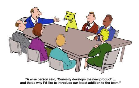 curiosity: Curiosity Develops the New Product