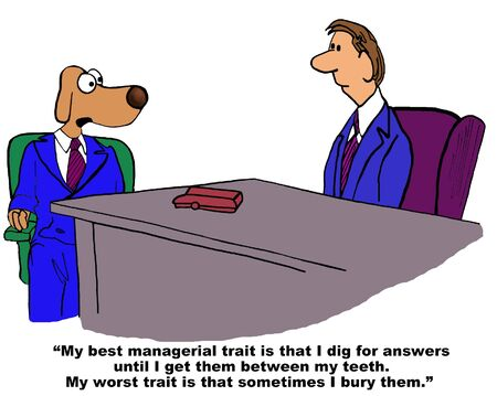 trait: Best and Worst Traits in Job Interview