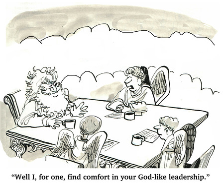 godlike: Manager Likes the God-like Leadership