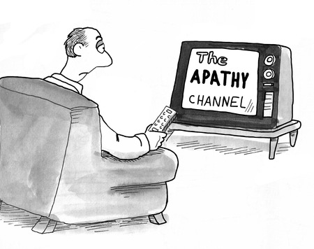 couch potato: Apathy TV Channel