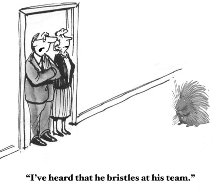 bristles: Bristles at His Team