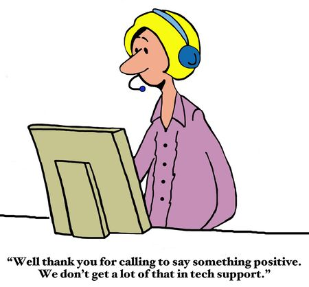 customer service: Thank You to Customer Support Stock Photo