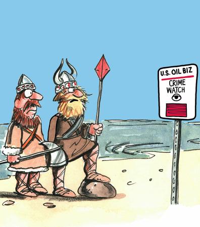 crime: Oil Crime Watch Area