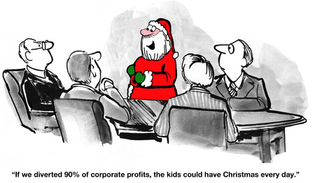Christmas Every Day Stock Photo