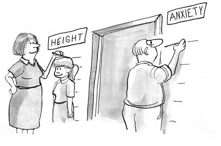 madre e hija adolescente: Máxima ansiedad