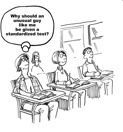 Standardized Test Reklamní fotografie