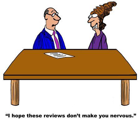 Review Makes Me Nervous