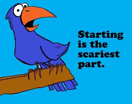 시작은 무서운 것입니다