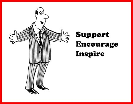 charismatic: Support, Encourage, Inspire