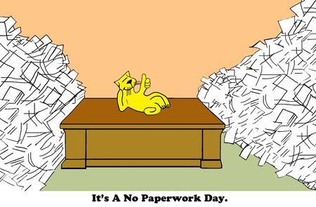 Geen papierwerk Day