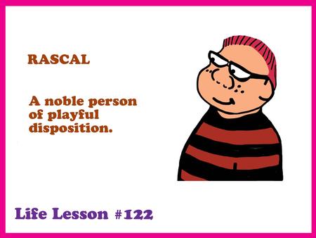 interruption: Rascal