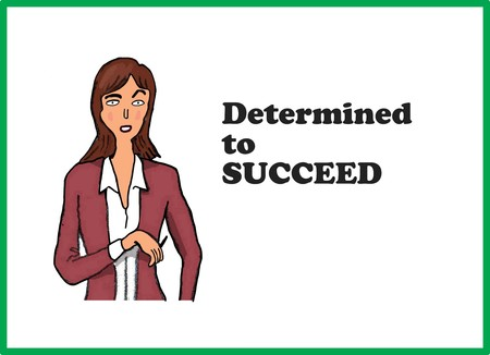 succeed: Succeed Stock Photo