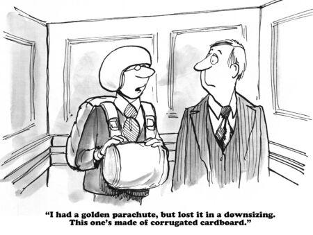 downsizing: Golden Parachute