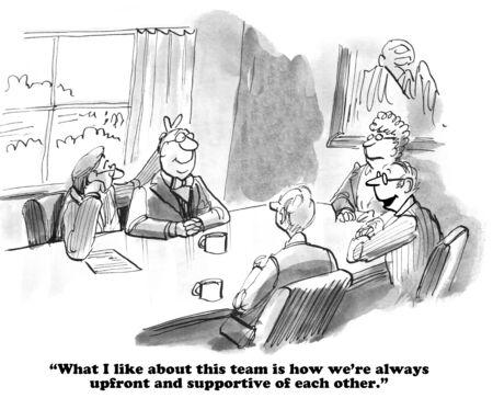 teammates: Teammates Enjoy Each Other