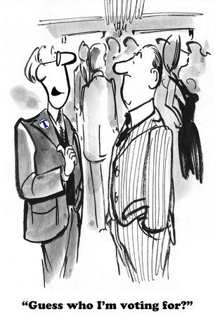 politics: Political cartoon