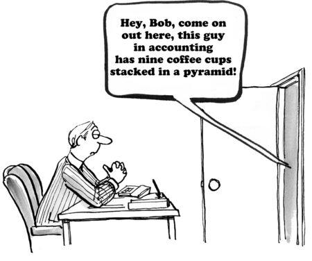 동료 괴 롭 혔 어에 대해 비즈니스 만화입니다.