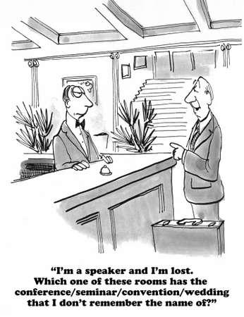 speaker: Lost Speaker Stock Photo