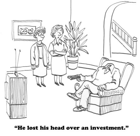 financial adviser: Investment Gone Bad
