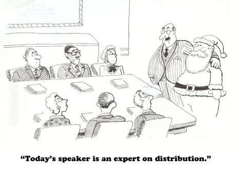 knowledgeable: Distribution Expert Stock Photo