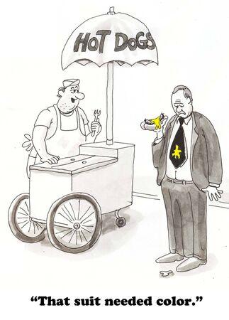gag: Mustard Spill