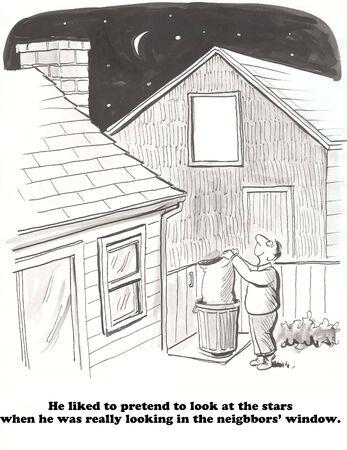 peeping: Peeping Tom