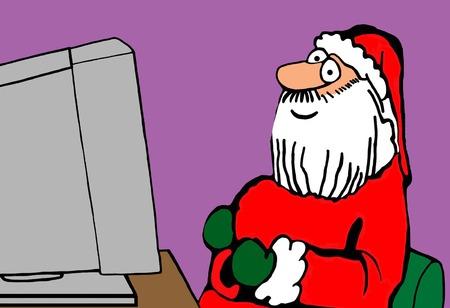 210 Naughty Santa Stock Vector Illustration And Royalty Free ...
