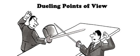 mad: Dueling points of view