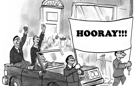 parade: Hooray Parade