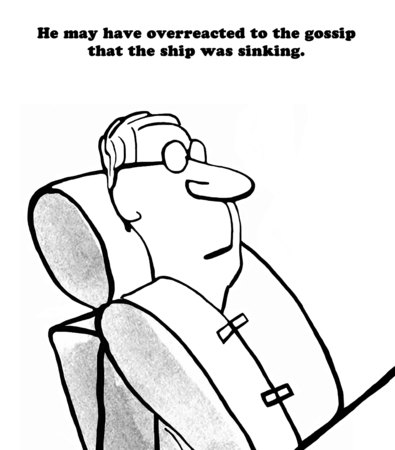 life jackets: Ship is sinking