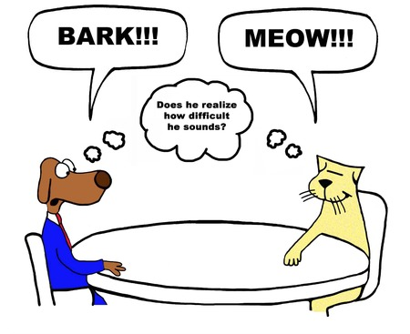 Color business cartoon about difficult coworker.