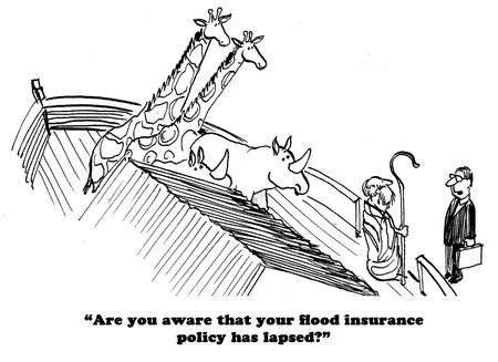 """""""Noah, somos los que hacen la lluvia."""" En el arca"""