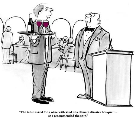 「私は通りの下から来ました。お客様発注ワインあなたより優れているため。