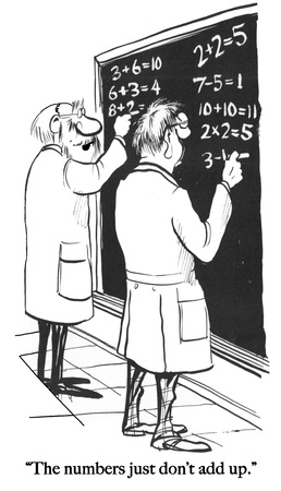 Two mathematicians compete to make numbers work