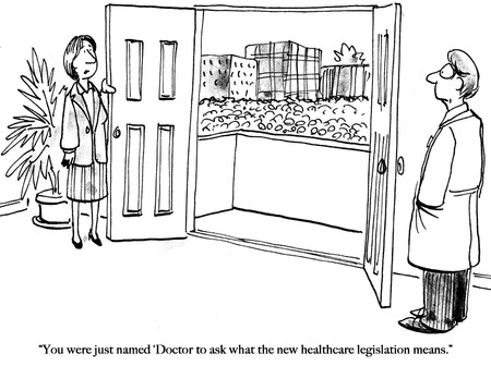 Doctor has just been named to explain healthcare bill.