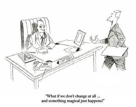Executives expect a magical change