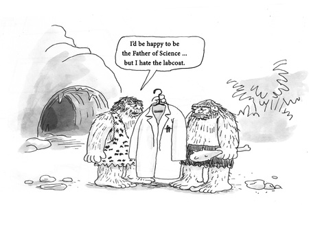 Cavemen don't want to innovate