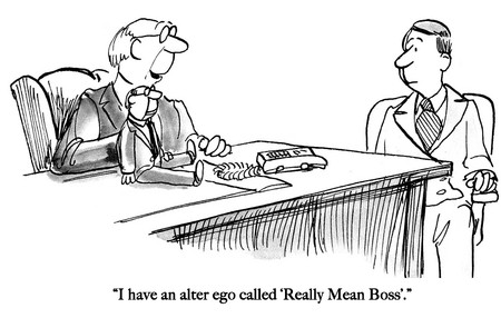 Mean boss puppet