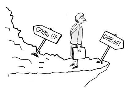 Woman is choosing between career paths