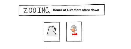 Zoo Corporation has a conflict in the board of directors