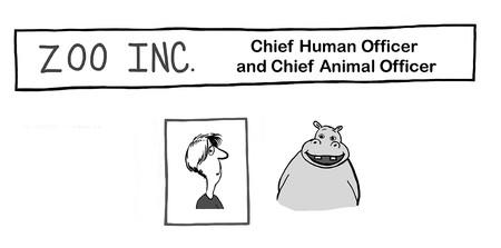 Zoo Inc has woman and animal CEO's