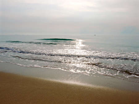 The sunrising over the Gulf Of Thailand