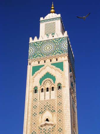 minaret: Moroccan minaret Stock Photo