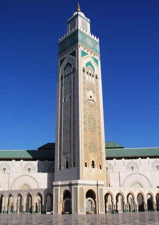 minaret: hassan the 2nd moroccan minaret