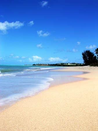 carribean: Antigua beach carribean Stock Photo