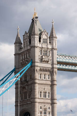 Tower Bridge in London England, UK. Imagens