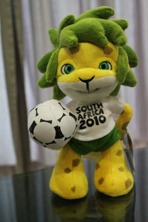 soft toy: Iconic World Cup football soft toy