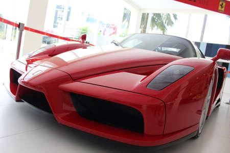 enzo: Ferrari Enzo sport car in Naza Italia