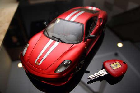 scuderia: Ferrari F430 Scuderia diecast car