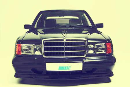 mercedes: Mercedes 190E Evolution ii diecast car