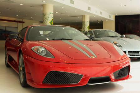 ferrari: Ferrari F430 Scuderia at Naza Italia showroom